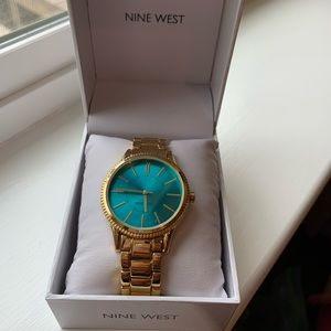 Nine West Stainless Steel Watch
